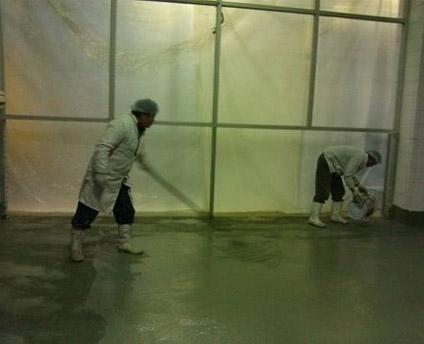 食品厂车间防水工程施工