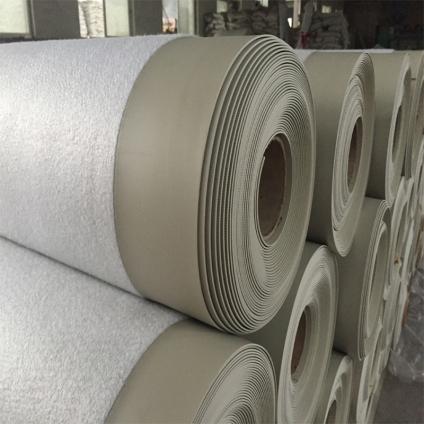 安徽1.5mm高分子背衬型聚氯乙烯PVC防水卷材